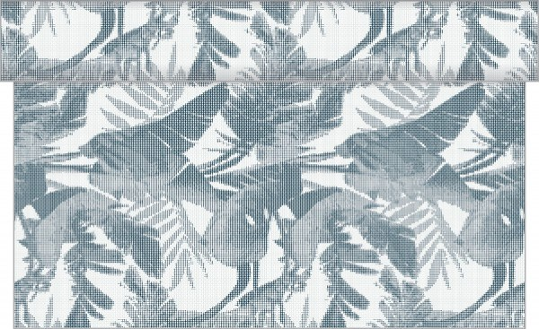 Tischläufer Magnus in Blaugrau aus Linclass® Airlaid 40 cm x 24 m, 1 Stück