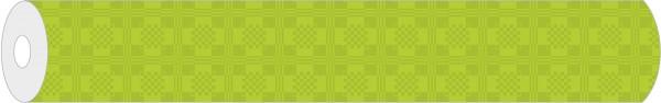 Papier-Tischdeckenrolle Damast in Hellgrün aus Papier 100 cm x 25 m, 1 Stück