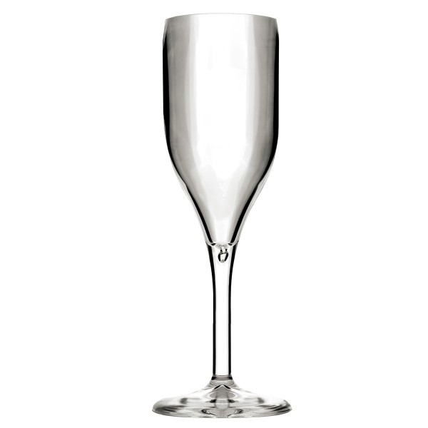 Mehrweg-Sektglas aus SAN, Transparent, 150ml, 1 Stück