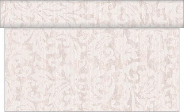 Tischläufer Mika in hellbraun aus Linclass® Airlaid 40cm x 24 m, 1 Stück