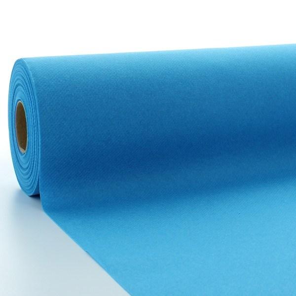 Tischdeckenrolle Aquablau aus Linclass® Airlaid 120 cm x 25 m, 1 Stück