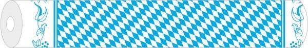 Papier-Tischdeckenrolle Bayern aus Papier 120 cm x 25 m, 1 Stück