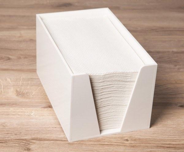 Sovie Care Handtuchspender aus Kunststoff für COSA Einweghandtücher 17x21x15cm in Weiß, 1 Stück