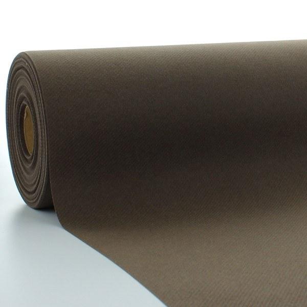 Tischdeckenrolle Braun aus Linclass® Airlaid 120 cm x 25 m, 1 Stück