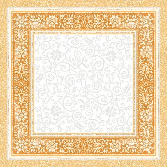 Tischdecke Lara in terrakotta aus Linclass® Airlaid 80 x 80 cm, 20 Stück