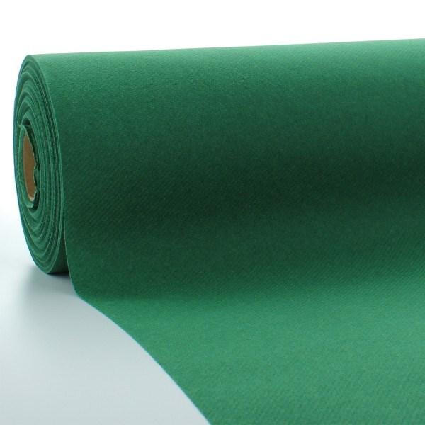 Tischdeckenrolle Dunkelgrün aus Linclass® Airlaid 120 cm x 25 m, 1 Stück
