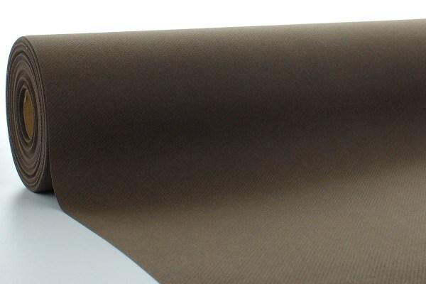 Airlaid Tischdeckenrolle Braun, 120 cm x 40 m , 1 Stück