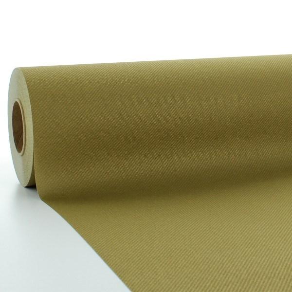 Tischdeckenrolle Gold aus Linclass® Airlaid 120 cm x 25 m, 1 Stück