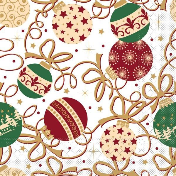 Serviette Belinda aus Tissue 40 x 40 cm, 100 Stück