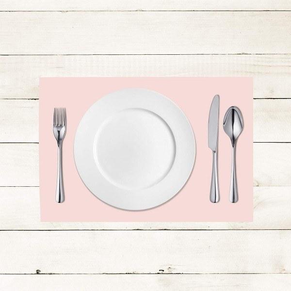 Tischset Hellrosa aus Linclass® Airlaid 40 x 30 cm, 100 Stück