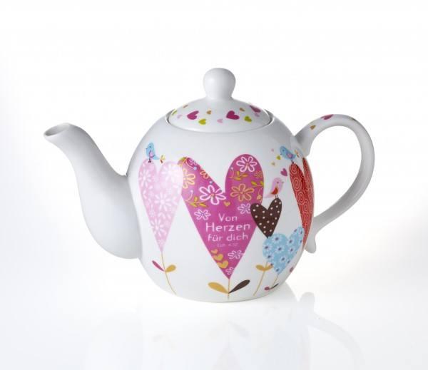 Teekanne HERZ, 1 Stück