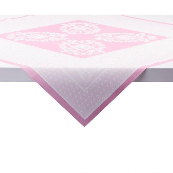 Tischdecke Bine in Rosa aus Linclass® Airlaid 80 x 80 cm, 1 Stück