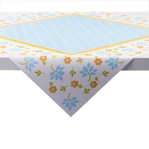 Tischdecke Lea in blau aus Linclass® Airlaid 80 x 80 cm, 20 Stück