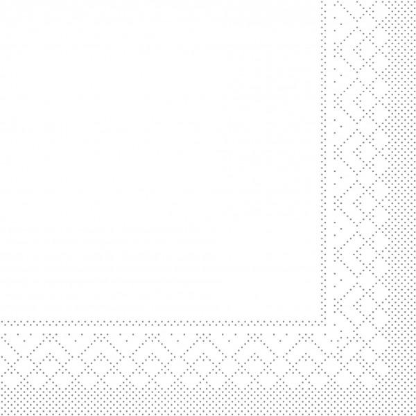 80634-Uni-Weiß-Tissue-33x33