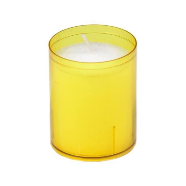 Sovie® Refill Kerzen in gelb 24 Stück im Tray