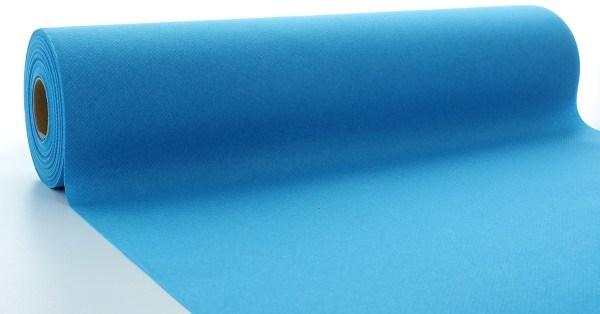 Tischläufer Aquablau aus Linclass® Airlaid 40 cm x 24 m, 1 Stück