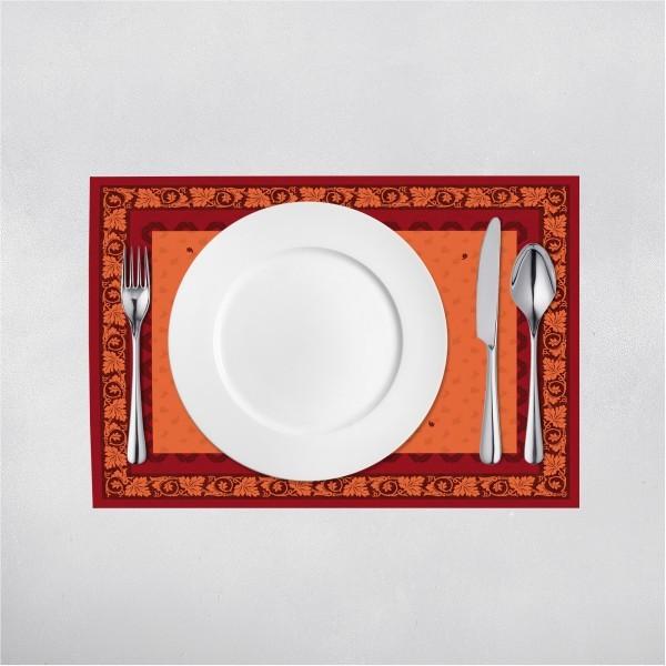 Tischset Amadeus in Braun aus Linclass® Airlaid 40 x 30 cm, 100 Stück