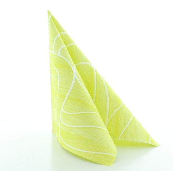Serviette Rene in lime aus Linclass® Airlaid 40 x 40 cm, 50 Stück