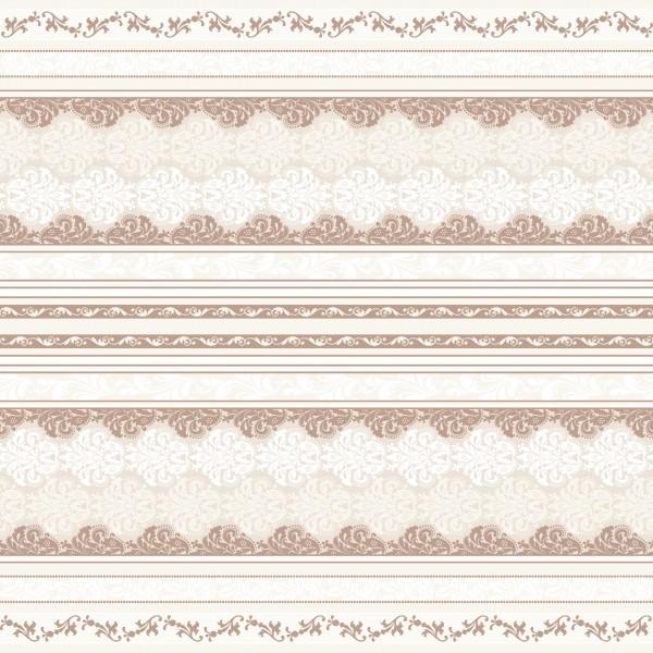 Tischdecke Marius in Braun aus Linclass® Airlaid 80 x 80 cm, 1 Stück