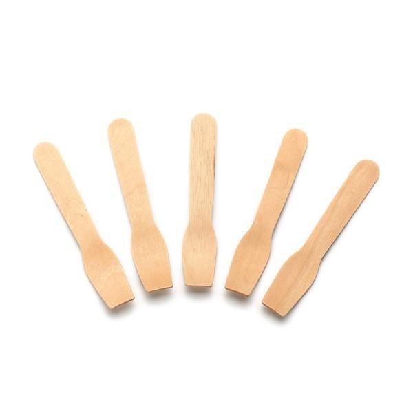 Eislöffel aus Holz, 95 mm, 300 Stück