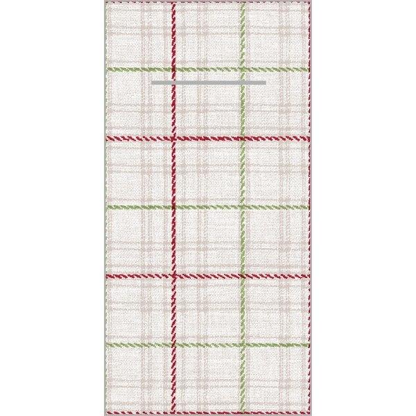 Besteckserviette Lene aus Linclass® Airlaid 40 x 40 cm, 12 Stück