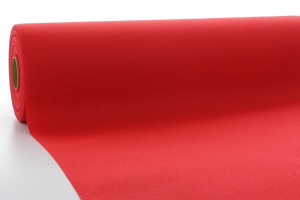 Airlaid Tischdeckenrolle Rot, 120 cm x 40 m , 1 Stück