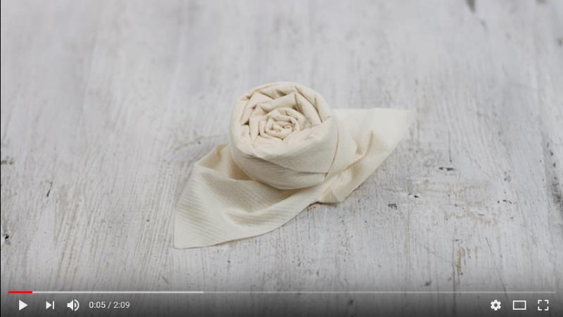 Servietten Falten 24 Video Anleitungen Fur Verschiedene Anlasse