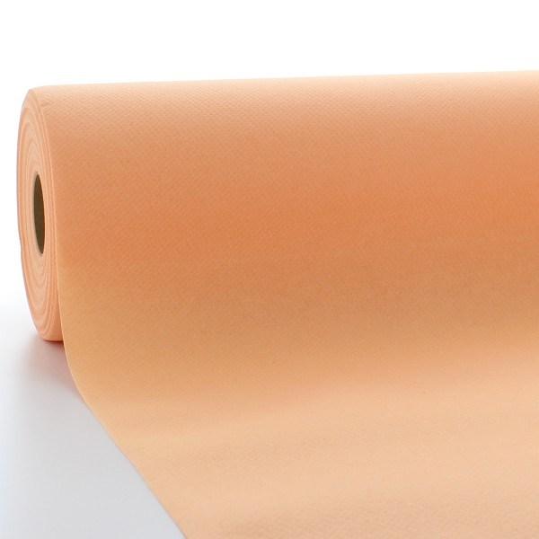 Tischdeckenrolle Aprikot aus Linclass® Airlaid 120 cm x 25 m, 1 Stück