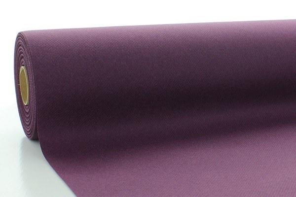 Airlaid Tischdeckenrolle Pflaume, 80 cm x 40 m , 1 Stück