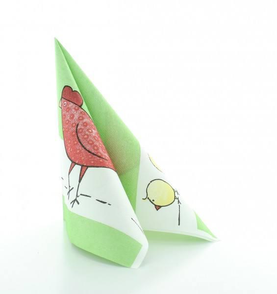 Serviette Tiffy aus Linclass® Airlaid 40 x 40 cm, 12 Stück