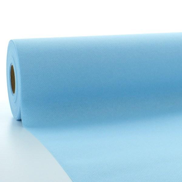 Tischdeckenrolle Hellblau aus Linclass® Airlaid 120 cm x 25 m, 1 Stück