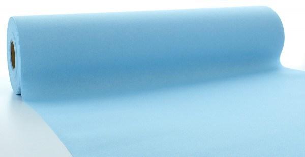 Tischläufer Hellblau aus Linclass® Airlaid 40 cm x 24 m, 1 Stück