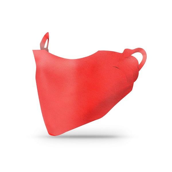 Sovie Care Einweg Behelfs- Mund- und Nasenmaske M1 in Rot aus PP-Vlies - 2.000 Stück - Masken