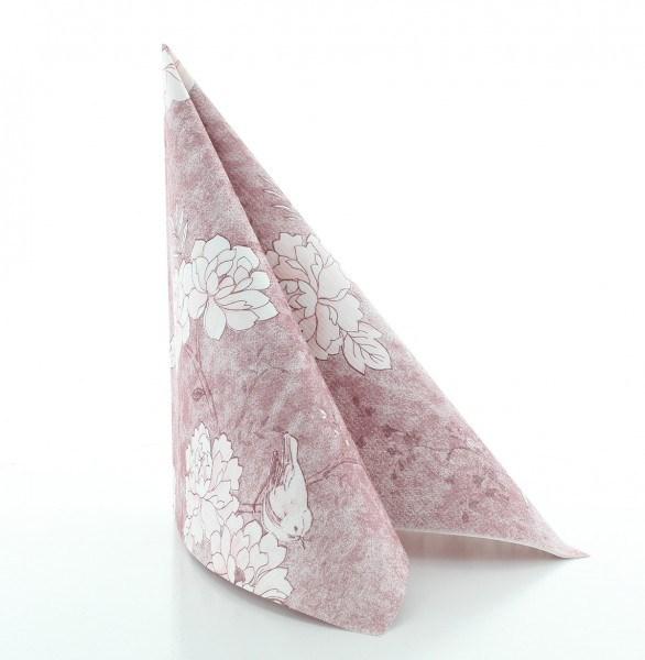 Serviette Maylin in rosé aus Linclass® Airlaid 40 x 40 cm, 50 Stück
