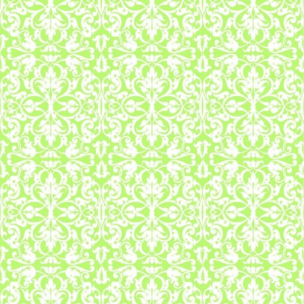 Serviette Livia-Ornamentik in Grün aus Linclass® Airlaid 40 x 40 cm, 12 Stück