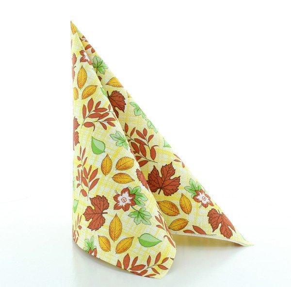 Serviette Helge in creme aus Linclass® Airlaid 40 x 40 cm, 50 Stück
