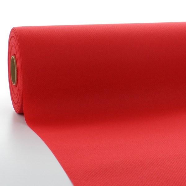 Tischdeckenrolle Rot aus Linclass® Airlaid 120 cm x 25 m, 1 Stück
