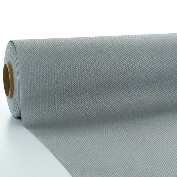 Tischdeckenrolle Silber aus Linclass® Airlaid 120 cm x 25 m, 1 Stück