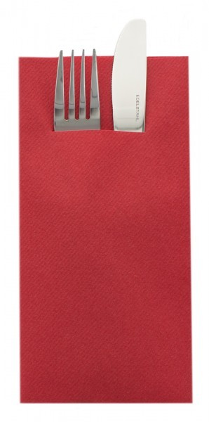 Unibesteckserviette-rot-Airlaid-SovieHome-68473