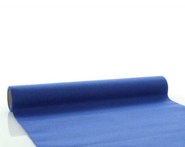 Tischläufer Royalblau aus Linclass® Airlaid 40 cm x 4,80 m, 1 Stück