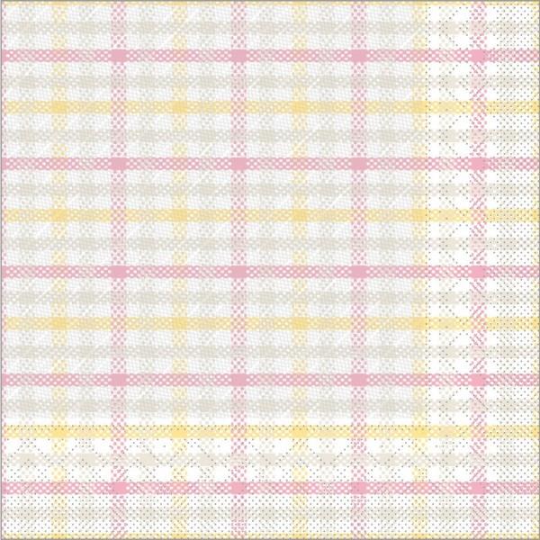 Serviette Emil in Rosa aus Tissue Deluxe®, 4-lagig, 40 x 40 cm, 50 Stück
