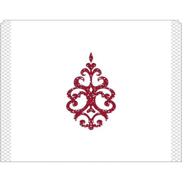 Eierwärmer Royal Line Bordeaux aus Tissue 9-lagig, 105 x 82 mm, 150 Stück