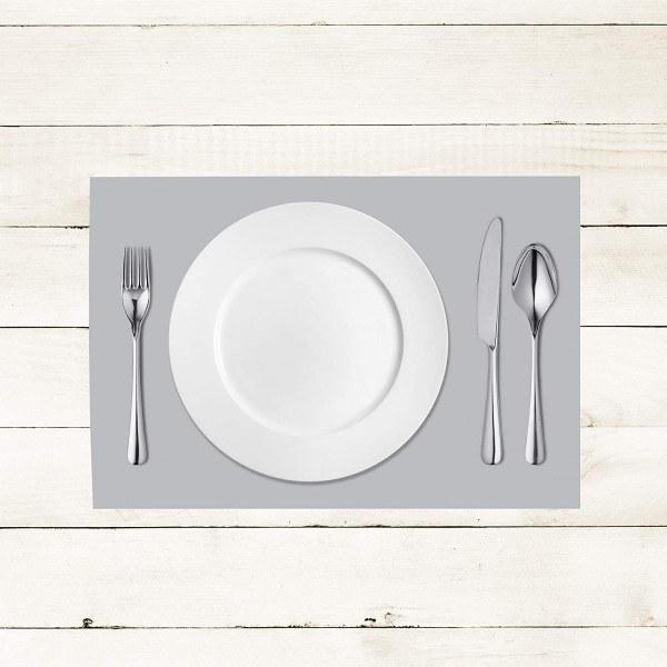 Tischset Silber aus Linclass® Airlaid 40 x 30 cm, 100 Stück