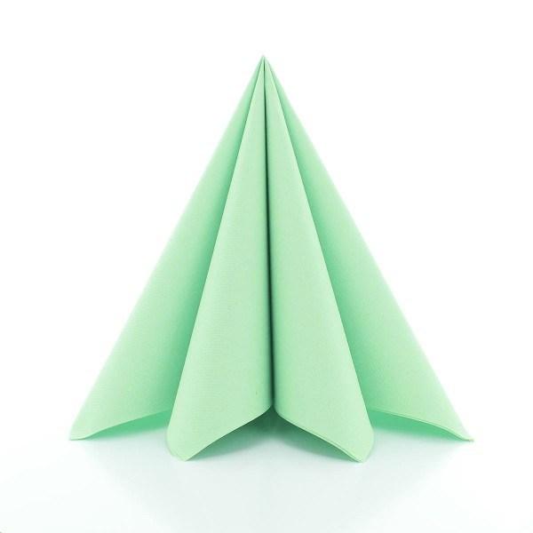 Serviette Pistazie aus Linclass® Airlaid 40 x 40 cm, 12 Stück