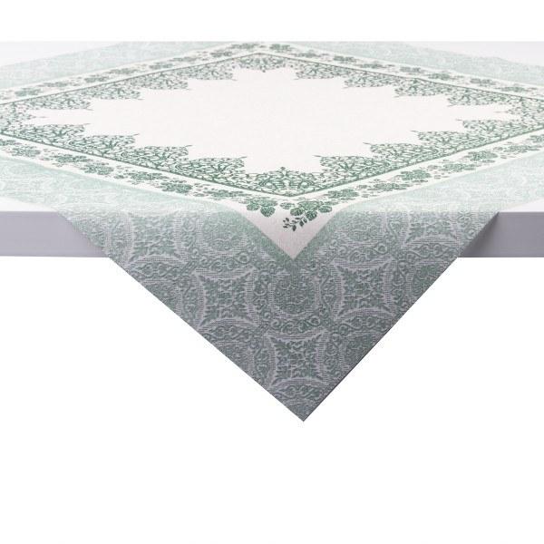 Tischdecke Madrid in olive aus Linclass® Airlaid 80 x 80 cm, 20 Stück