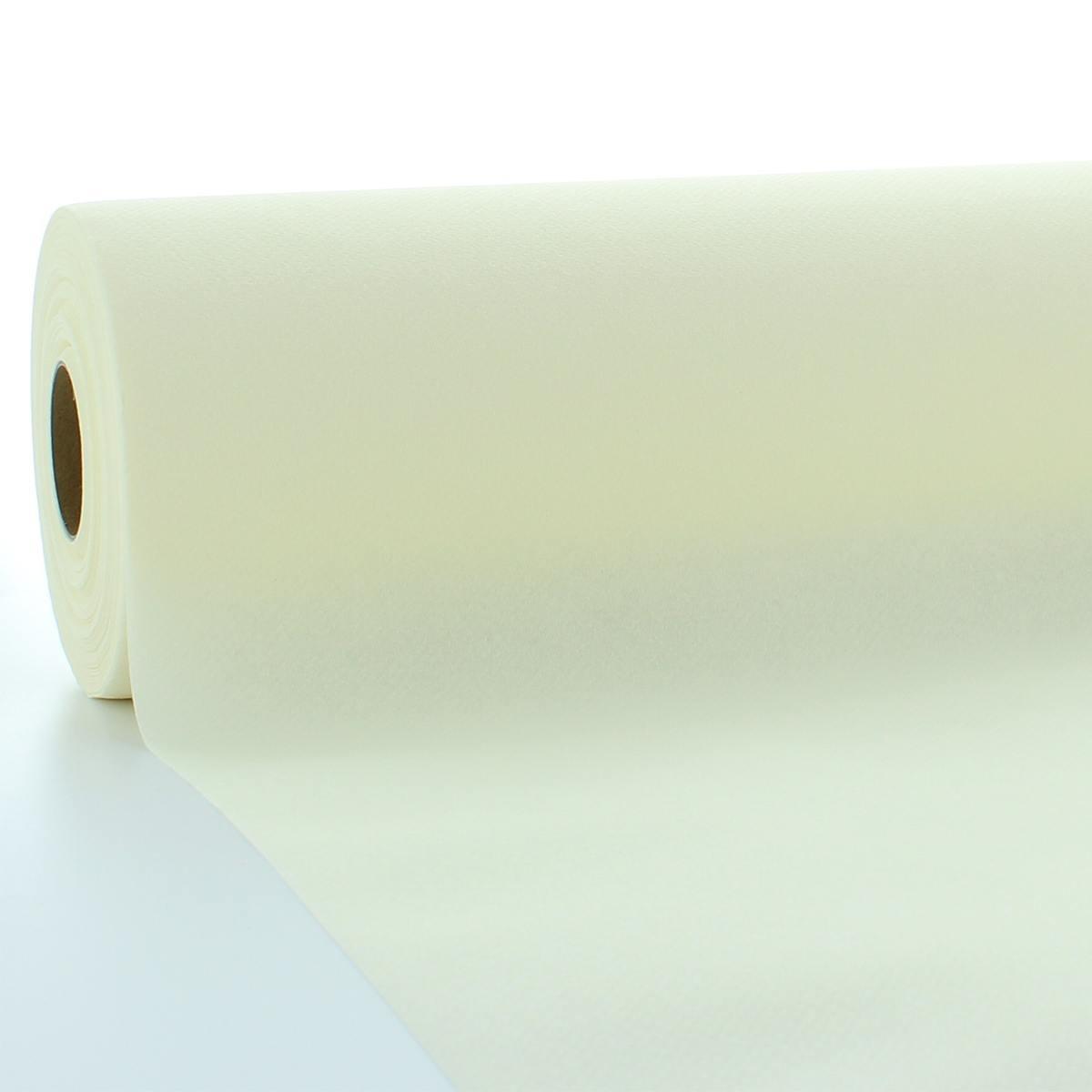 1 Stück 120 cm x 40 m Airlaid Tischdeckenrolle Hellblau Tischdecke Einweg